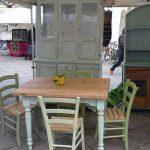 tavolo e vetrina