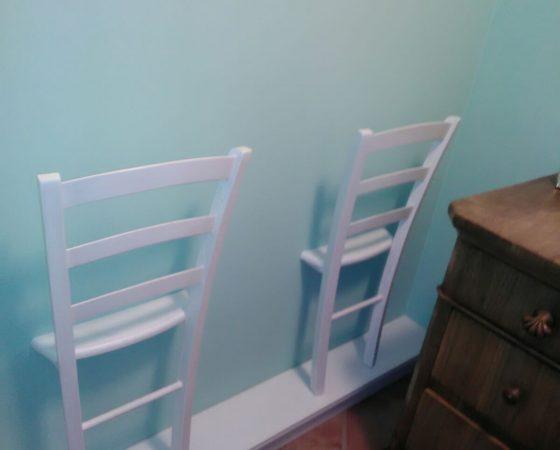 Nuova vita per vecchie sedie