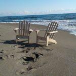 Le poltrone Adirondack  al mare